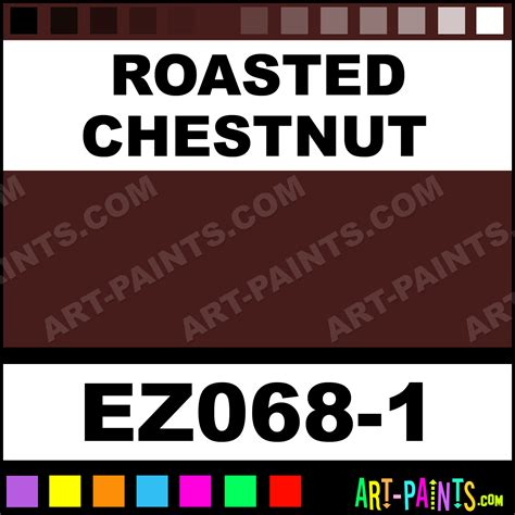 roasted chestnut ez stroke ceramic paints ez068 1 roasted chestnut paint roasted chestnut
