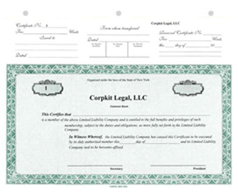 Llc Units Ten Facts You Never Knew About Llc Llc Certificate Template