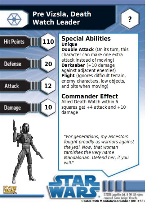 wars miniatures card template paul s wars my entry
