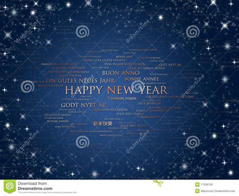 happy  year world languages royalty  stock  image