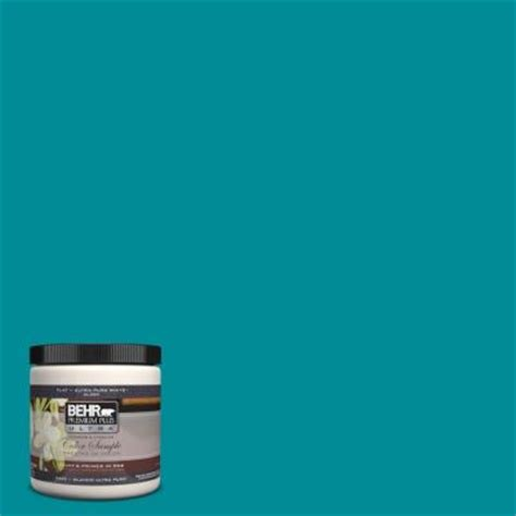 teal paint colors home depot behr premium plus ultra 8 oz 510b 7 empress teal