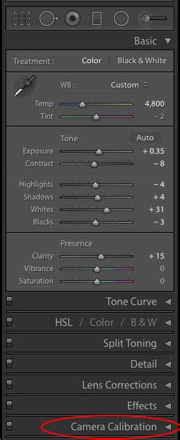 lightroom profiles presets from lightroom calibration profiles