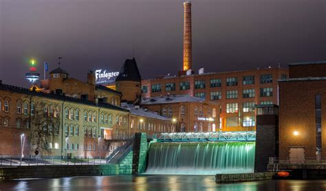 Finder Finland The Only City In The World With A Waterfall In The City Centre Europe
