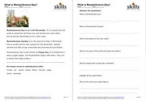 remembrance day skills workshop