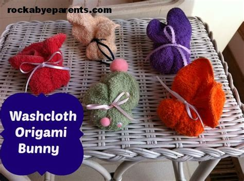 Washcloth Origami - 66 best images about random bits on easy