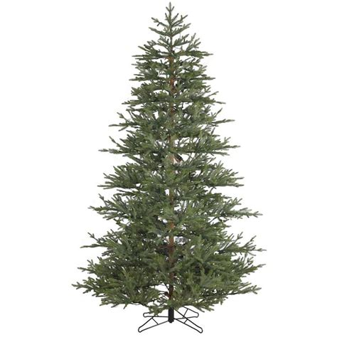 ashland pre lit windham spruce 7 5 foot unlit realistic tree williamsburg pine medium 1