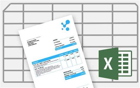 como crear layout en excel c 243 mo crear una factura con excel debitoor programa de