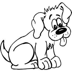 coloring pages funny dogs funny puppy coloring page