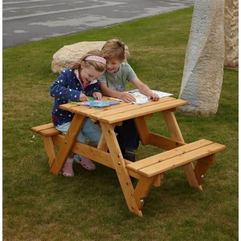 children benches childrens garden picnic bench the garden factory