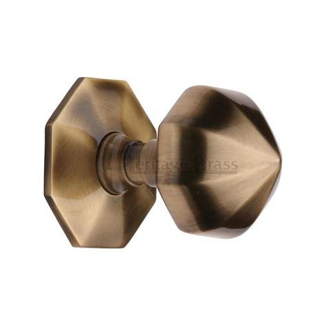 Center Door Knobs by External Hardware Door Knobs Faceted Centre Door Knob At V880 At