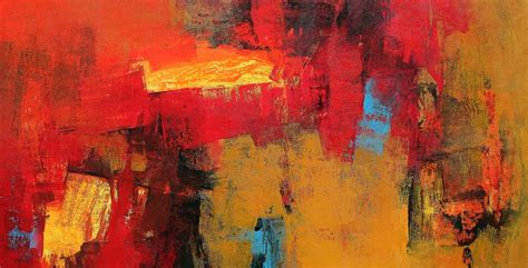 Bedroom Paint Ideas by Red Horizontal Abstract By Artist Siddhesh Rane Acrylic
