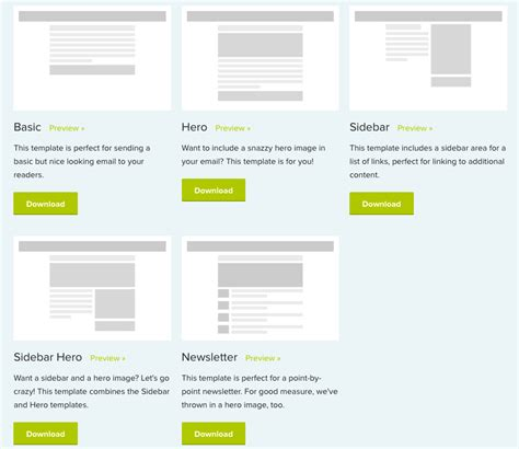 zurb html templates 10 simple responsive email template park attendant using