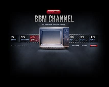 Tv Chanel Dynamic Video Gallery Flash Template Html5 Web Templates 300110494 Web Tv Template