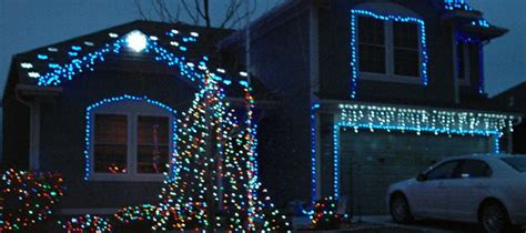 resident uses light display as fundraiser for area not for