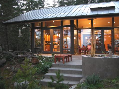 modern cabin rustic exterior seattle by johnston architects orcas12