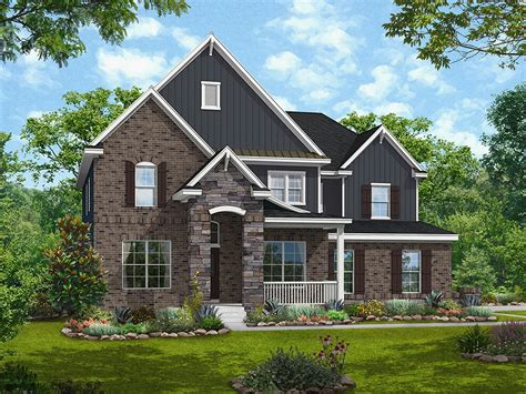 house plan the amherst by stylecraft homes hallsley home