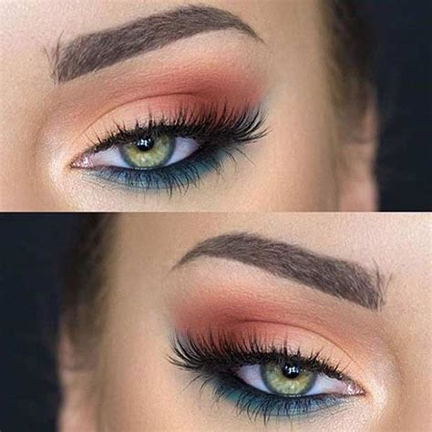 best eyeshadow colors for green 31 pretty eye makeup looks for green makeup