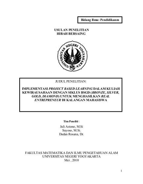 format laporan riset contoh laporan