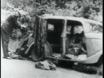 bonnie und clyde / cadavre / etats unis / 1934 sd
