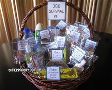 gifts survival kits and elementary school office on pinterest