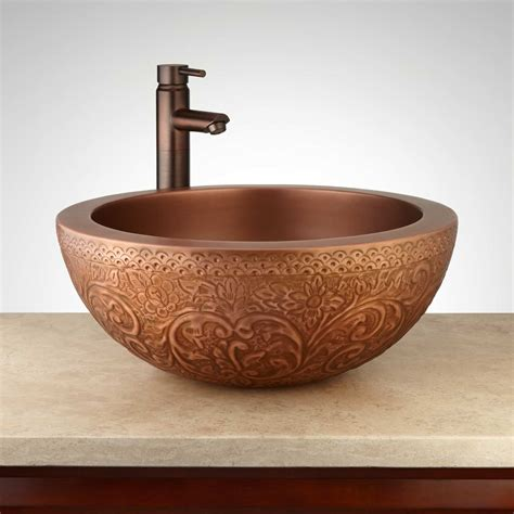 Copper Kitchen Sinks For Sale Home Decor Alluring Copper Bathroom Sinks With Antique Sink Signature Hardware Bar Home Depot