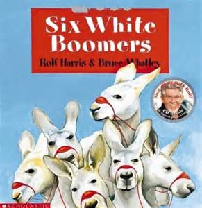 booktopia six white boomers book cd by rolf harris