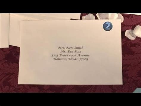how to send wedding invitation to a married