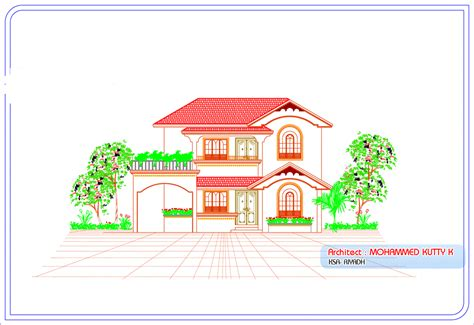 1600 sqft 3 bhk budget house design from triangle visualizer 1100 square feet 3 bedroom traditional kerala style double