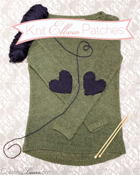 10 diy elbow patches