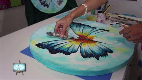 youtube decorarte en casa segunda parte lindisima mariposa muy colorida con