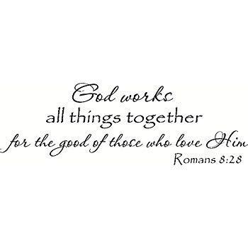 Romans 8 28 Wall