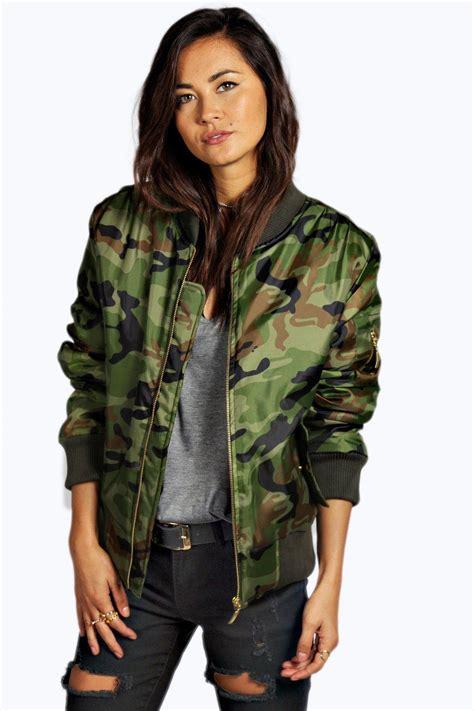 Set 2in1 Michael Korz Brown camouflage top damen camouflage hose damen eng camouflage