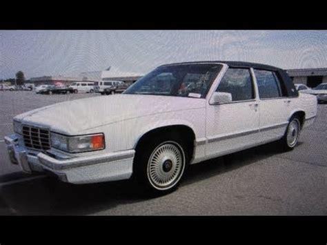 1993 cadillac engine 1993 cadillac sedan start up engine and in depth