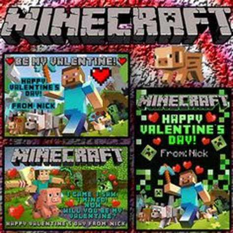 Buy Minecraft Gift Card Online Minecraft Gift Card For Pc - 1000 images about valentines day boxes and cards on pinterest minecraft valentines