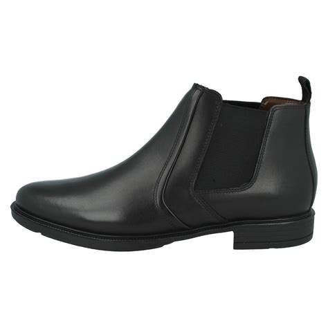 mens hush puppies chelsea boots style courtland 3 ebay