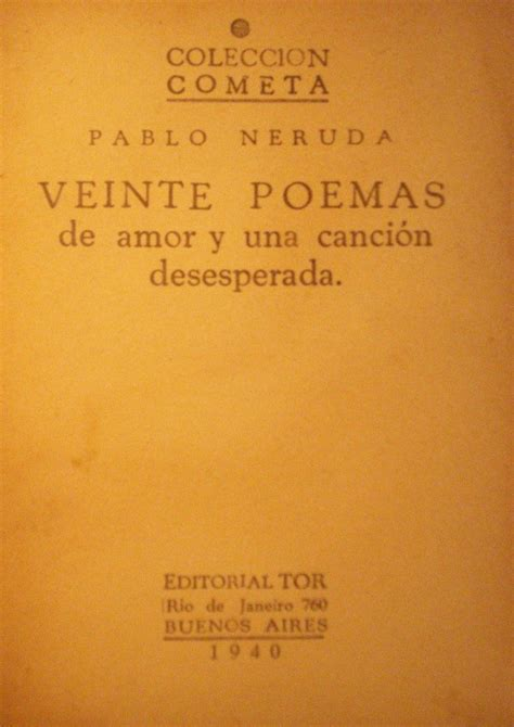 poema n 20 veinte poemas de amor y una cancin 20 poemas de y una cancion desesperada veinte poemas de