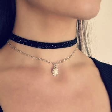 gold chain choker necklace by jewellery store buy jewellery burgundy