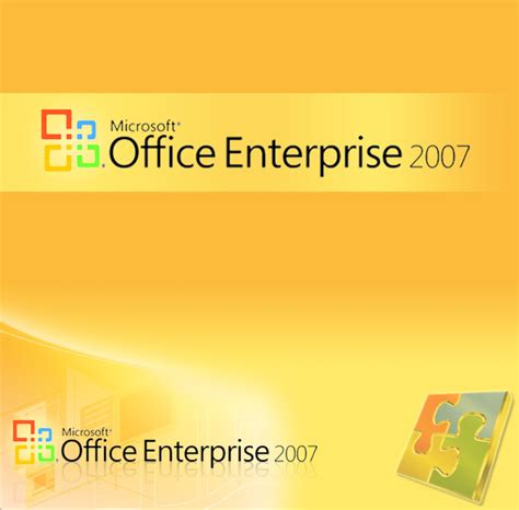 Cd Microsoft Office 2007 msoffice enterprise 2007 cover by biggyeyes on deviantart
