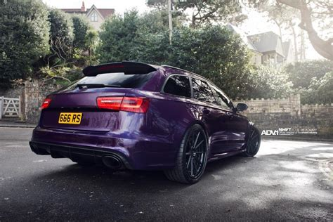 I'm really not into Audi outside the R8, but this Purple
