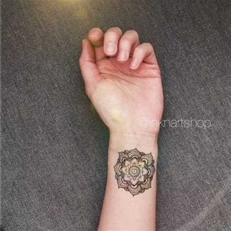 mandala tattoo on wrist 74 cool wrist tattoos