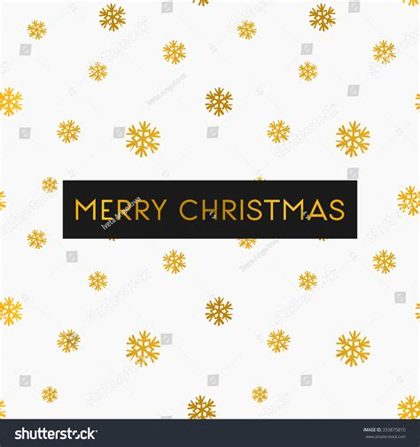 Merry Christmas Greeting Card Template Seamless Stock Vector 333875810 Shutterstock Merry Greeting Card Template