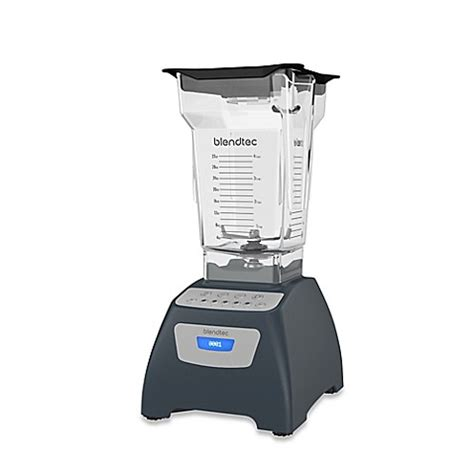 blendtec bed bath and beyond buy blendtec 174 classic 575 blender in slate grey from bed