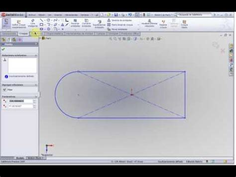 tutorial solidworks espanol tutorial solidworks 2009 totalmente en espa 241 ol 2 youtube