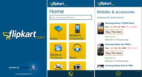 mobile app marketplace flipkart and snapdeal official apps now available at