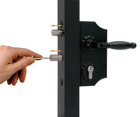 swing gate locks locinox laky f2 small ornamental gate lock locinox locks