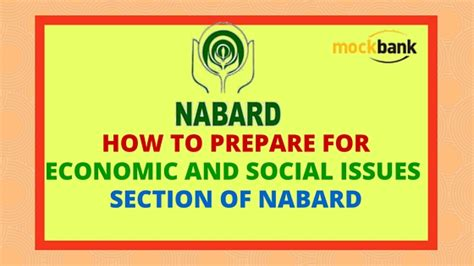Preparing For Section Tips by Economic And Social Issues Section Of Nabard