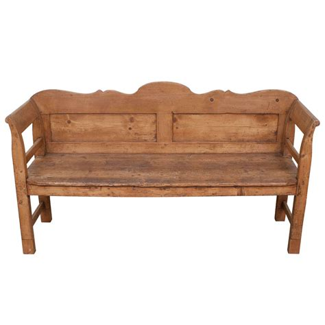 pine benches pine bench at 1stdibs