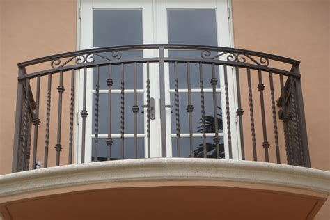 Balcony Banister by Wrought Iron Balcony Handrail Balcony Railing Of Wrought