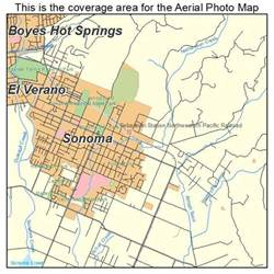 where is sonoma california on the map aerial photography map of sonoma ca california