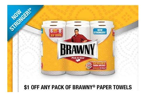 free printable coupons for brawny paper towels